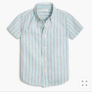 Authentic Crewcuts Boys seersucker Shirt